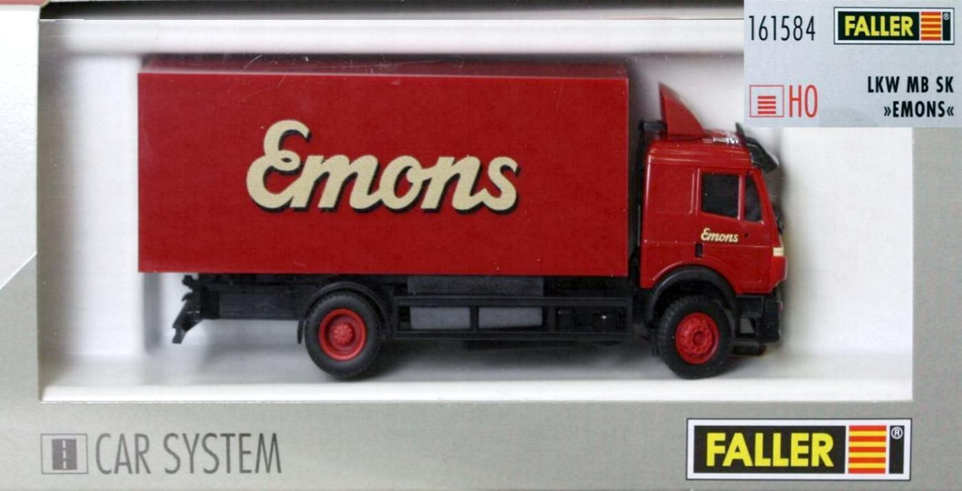 Faller 161584 H0 - CAR- SYSTEM LKW   MAN SK Emons   NEU & OvP  | Shop