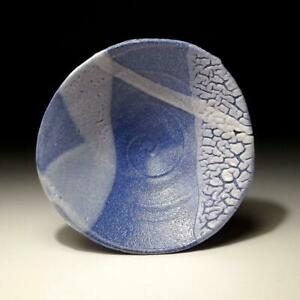 @LB33: Japanese Pottery Tea Bowl, Tanba Ware by Famous Potter, Yuki Ogami