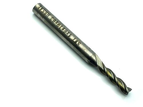 US Stock 3x Extra Long 4mm Three 3 Flute HSS /& Aluminium End Mill Cutter CNC Bit
