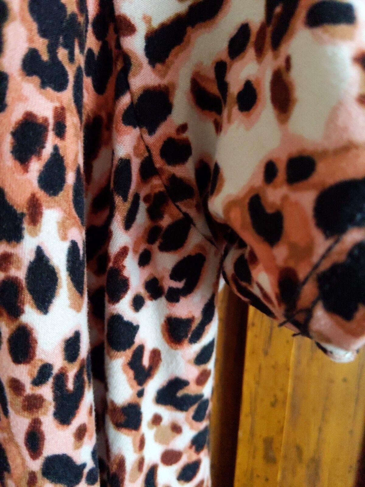 Lularoe Carly HTF Unicorn  Leopard Cheetah Print Print Print large S 9b6702