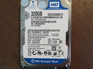 WD3200BEVT DRIVER WINDOWS