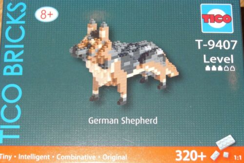 German Shepherd TICO Bricks Tiny construction block imni building brick T9407