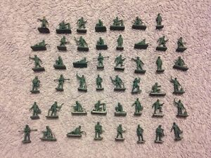 47 x Possible Airfix Luftaffe Personnel Unpainted Plastic Figures  Scale 172 - <span itemprop=availableAtOrFrom>Carnoustie, Angus, United Kingdom</span> - 47 x Possible Airfix Luftaffe Personnel Unpainted Plastic Figures  Scale 172 - Carnoustie, Angus, United Kingdom