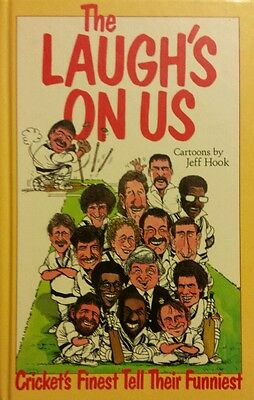 The Laugh's On Us Cricket's Finest Tell Their Funniest FREE AUS POST used HB '89