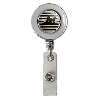 Dragons in Love Retractable Reel Chrome Badge ID Card Holder Clip