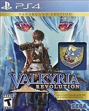 VALKYRIA REVOLUTION:VAN ED PS4  GAME NEW