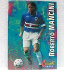 """CALCIATORI PANINI """"CALCIO 97 CARDS"""" - ROBERTO MANCINI della SAMPDORIA - n° 96"""