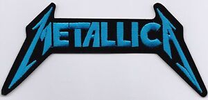 METALLICA-BLUE-DIE-CUT-LOGO-IRON-or-SEW-ON-PATCH