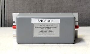 Details about Solar 8028-50-TS-24-BNC 50 uH, 600 VDC, Line Impedance  Stabilization Network