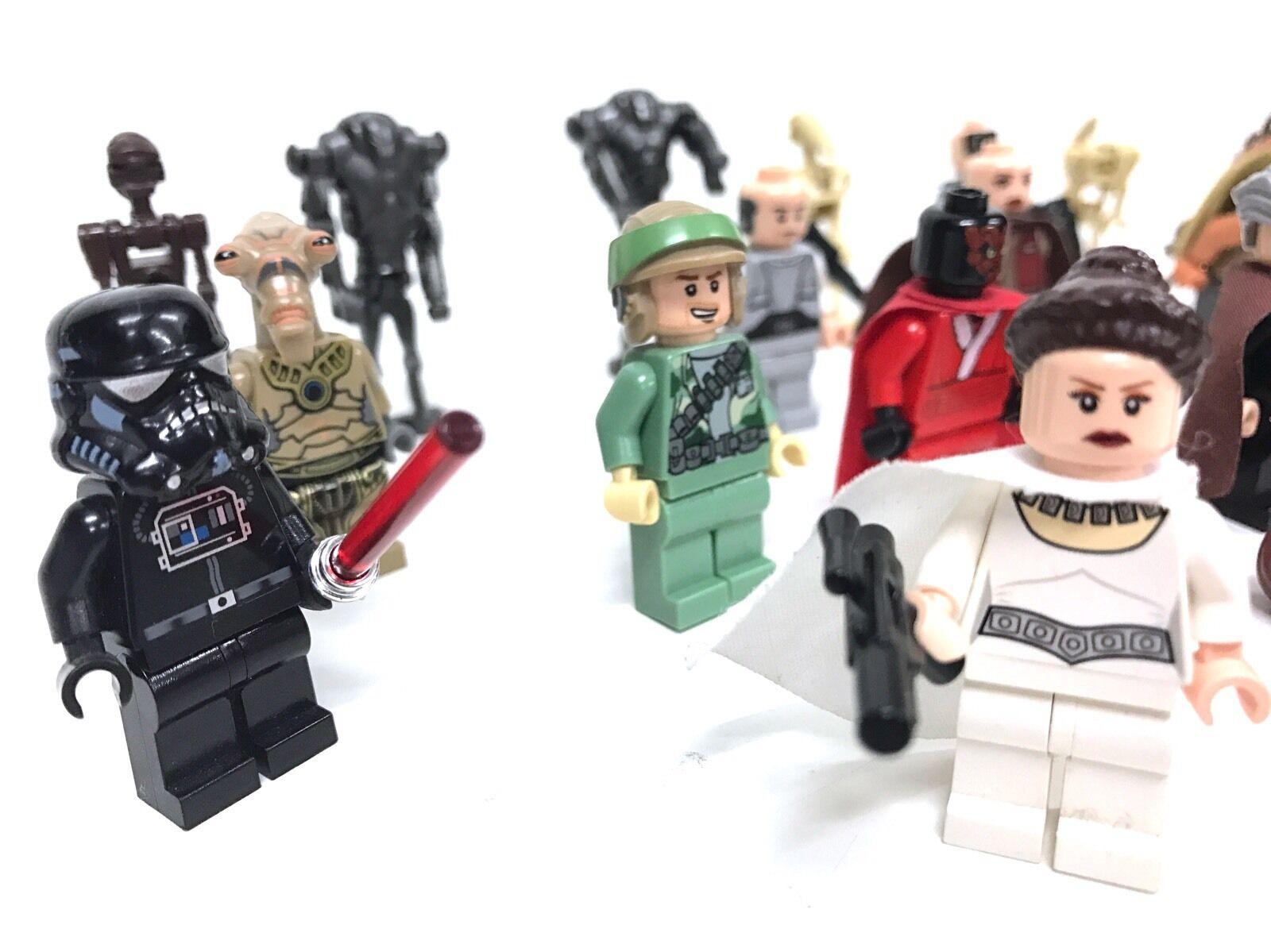 20 Lego Star Wars Figuren • Prinzessin Leia (9495) Darth Vader und andere