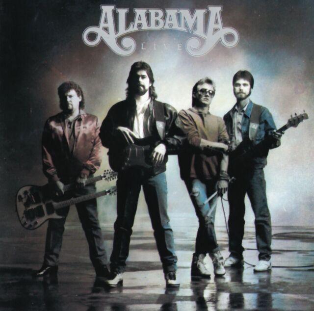 Alabama - Live   (CD)