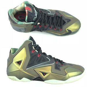 9097998a8ee2 Men s Nike LeBron 11 XI Kings Pride Limited Edition Shoes 616175-700 ...