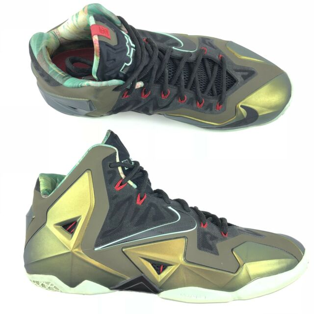 on sale 30a39 dedc9 Men s Nike LeBron 11 XI Kings Pride Limited Edition Shoes 616175-700 Size 13