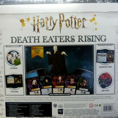 Wizarding World Harry Potter DEATH EATERS RISING Game  englisch NeuOVP