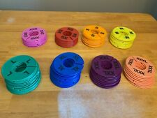 Lot 101 Pieces Round Clothing Rack Size Dividers Plastic Hangers Ring Xxs 3xl