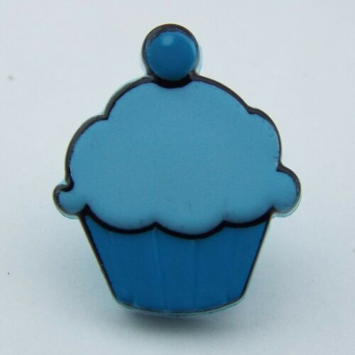 6 COLOUR 13mm*15mm Cupcake Muffin Buttons Kids Baker Shop Party Craft BUY 2 4 8