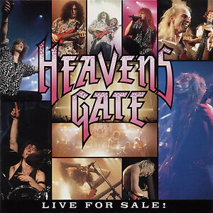 HEAVENS-GATE-Live-For-Sale-CD-1993-Live-in-Japan-German-Power-Metal