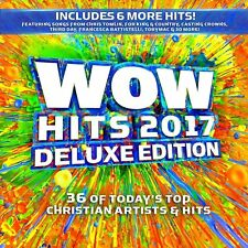 Wow Hits 2017 2CD Deluxe Edition +9 tracks Christian Artists Brand New & Sealed