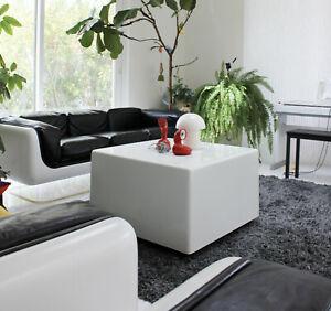 Mid-Century-Modern-Space-Age-Aarnio-Panton-Era-WHITE-Steelcase-Sintoform-Table