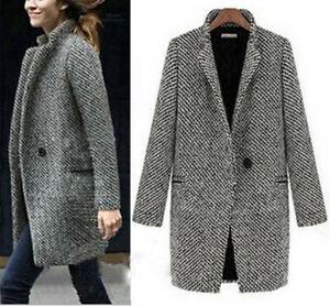 Women-Slim-Winter-Warm-Wool-Lapel-Long-Coat-Trench-Parka-Jacket-Overcoat-Outwear