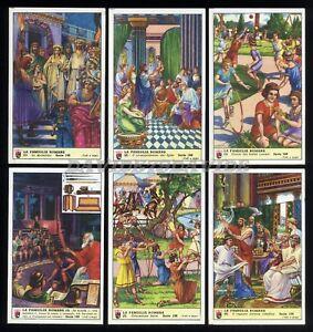 Verzamelingen Figurine Lavazza serie n°96 Divinità Romane ANNO 1955 Chromo