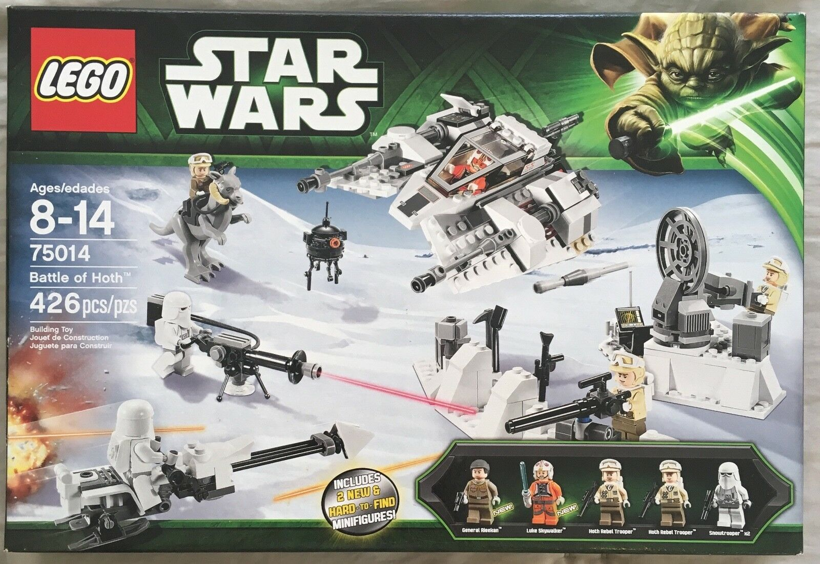 LEGO- Starwars Battle of  Hoth. 75014 BRAND nouveau RETIrouge  sports chauds