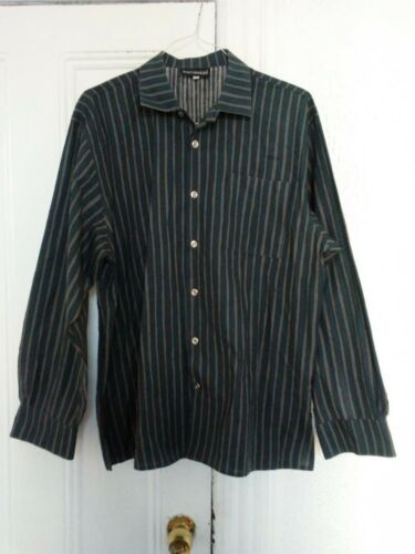 Marimekko Jokapoika pinstriped button up shirt! Sz