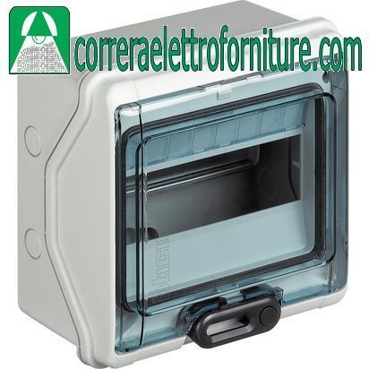Centralino quadro elettrico parete 12 moduli DIN IP65 BTICINO F107N12D