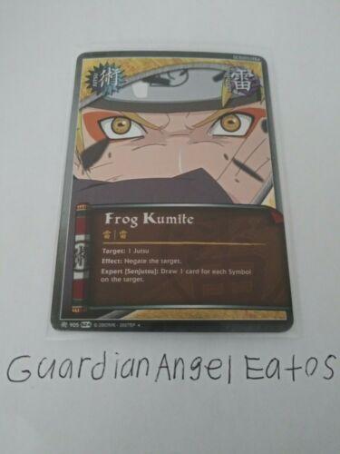 foil Frog Kumite near mint Naruto TCG//CCG