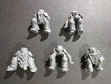 Warhammer 40k Space Wolves Wolf Guard Terminators x5 Legs Bits