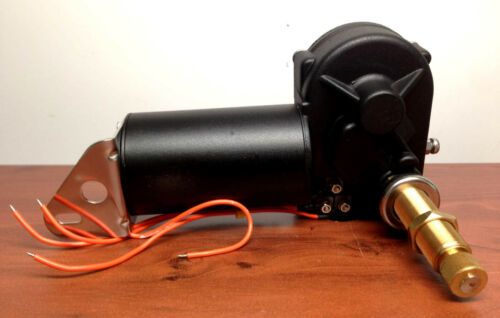 "Marine Boat Heavy Duty Wiper Blade Motor 80 Deg Adjustable 2.5/"" Shaft Two Speed"