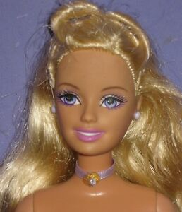 Concurrence A real nude blond barbie will