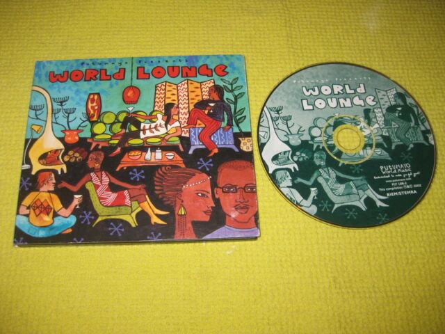 World Lounge Putumayo World Music 2002 CD Album Electronic Downtempo ft Gotan Pr