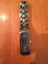 Oniss ON8045-LGY/BK Womens Watch Slim Grey Dial Black Ceramic Bans