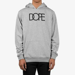 Details zu BRAND NEW with TAG Men's DOPE Logo Pullover Hoodie Sweatshirt Streetwear NWT