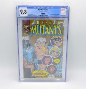 New-Mutants-87-2nd-Printing-CGC-9-8-White-Pages-Marvel-1st-Appearance-Cable