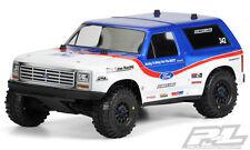 Pro-Line 1981 Ford Bronco Clear Body PRO-2 SC/Slash/Slash 4x4/SC10 3423-00