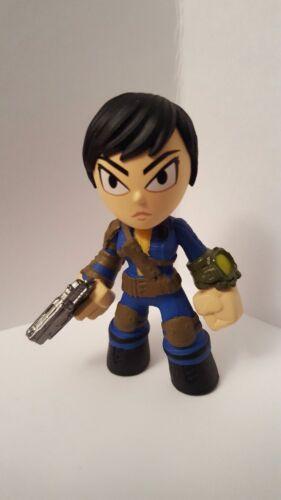 Funko Mystery Minis Fallout 4 Female Sole Survivor 1//6 Common Figure