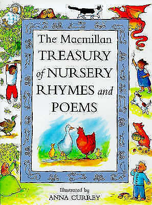 """""""AS NEW"""" The Macmillan Treasury of Nursery Rhymes and Poems, , Book"""