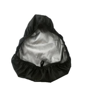 Rainproof Plastic Bike Seat Cover Bicycle Saddle Rain Cover Black Fashion Soft