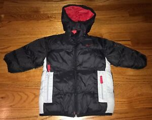 16f1c100d964 Toddler Boys Nike Winter Jacket Reversible. 2 in 1 Size 3