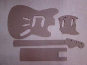 6 String Metall verchromt Brücke für Mustang Fender Jazzmaster Akustikgitarre