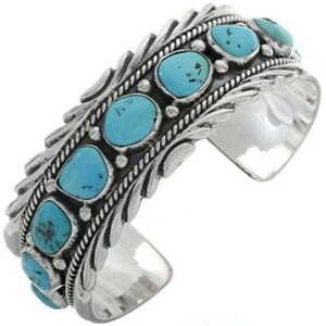 Image Is Loading Navajo Boy Sterling Silver Sleeping Beauty Turquoise