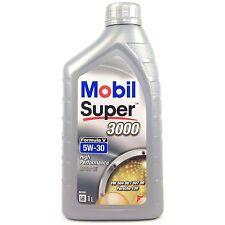 MOBIL Super 3000 formula V 5w-30 1 LITRI-VW 50400/50700 longlife III