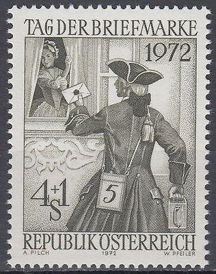 Österreich Ab 1945 Österreich Austria 1972 ** Mi.1404 Briefträger Postman Österreich 1970-1979