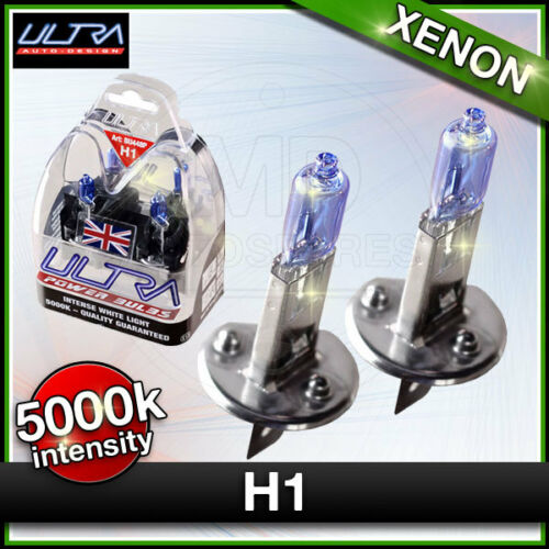 ULTRA H1 //// 448 Car Headlight XENON Halogen Bulbs 110w MAIN or DIP Beam 5000k