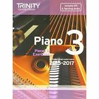 Piano 2015-2017: Pieces & Exercises: Grade 3 by Trinity College London (Mixed media product, 2014)