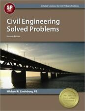 Civil Engineering Solved Problems by Michael R. Lindeburg (2014, Paperback, New