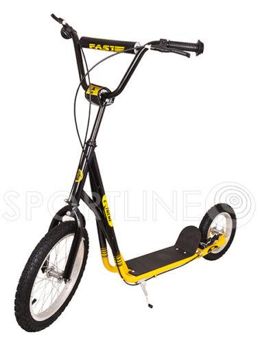 """Scooter Roller Tretroller Cityroller Kinderroller Inflatable wheels 12/"""""""