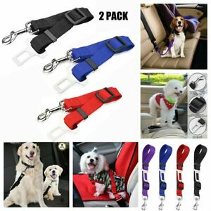 2x-Cat-Dog-Safety-Seat-Belt-Clip-Strap-for-Car-Vehicle-Adjustable-Harness-Lead